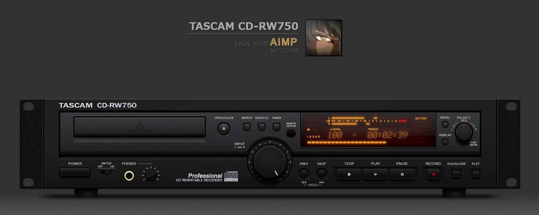 TASCAM CD-RW750 by Zigar