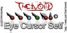 THE VOID - Eye cursor