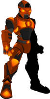 Infernox Warrior by XionicDXelt