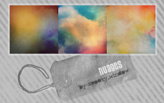 icon textures: nuages by spookyzangel