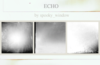 icon textures: echo by spookyzangel