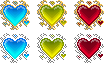 Free Ornament Heart Icons by LeviaDraconia