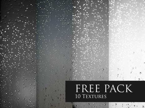 FREE Texture Pack - Rain drops