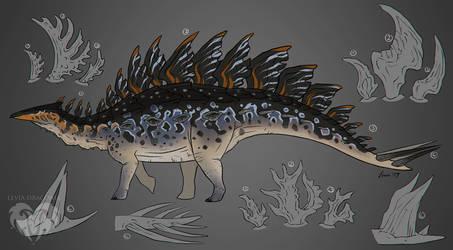 Stegosaurus Mutation + FREE Base Download by LeviaDraconia