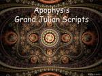 Julian Scripts by kuzy62 by kuzy62
