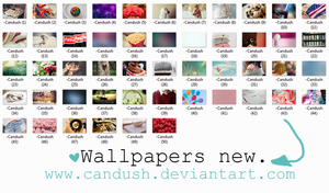 Wallpapers new - By, Candush