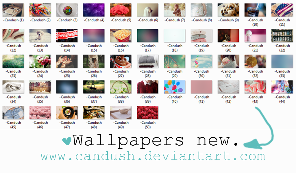 Wallpapers new - By; Candush by Candush