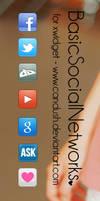 BasicSocialNetworks - XWidget Skin