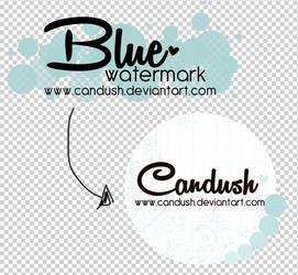 BlueWatermark .psd by Candush
