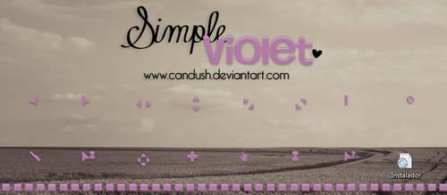 Simple Violet Cursor by Candush