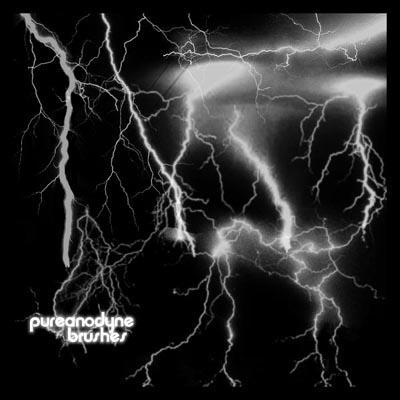 Lightning Brush Set by anodyne-stock