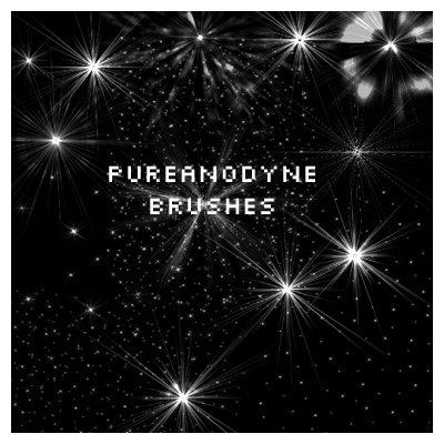 PSP Starry Night Brushes