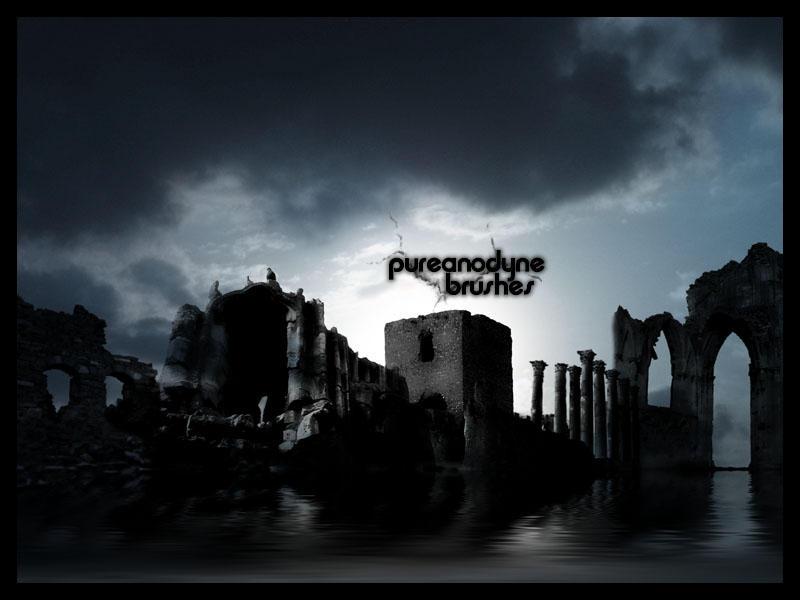 Dark Places Brush Set by anodyne-stock
