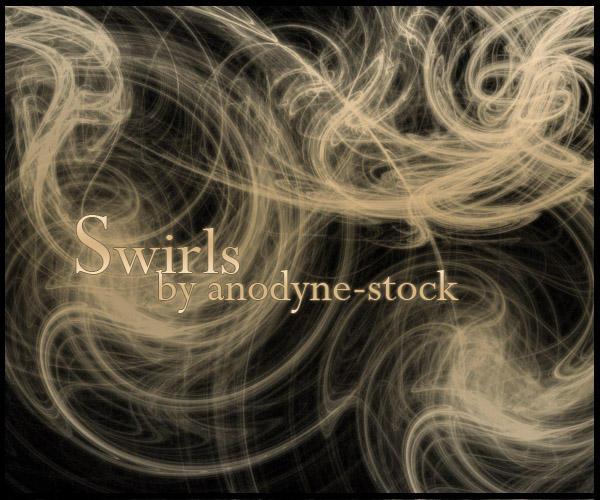 Swirls Brush Set by anodyne-stock