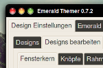 BlackX emerald theme for Gnome by aksum7