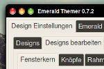 BlackX emerald theme for Gnome