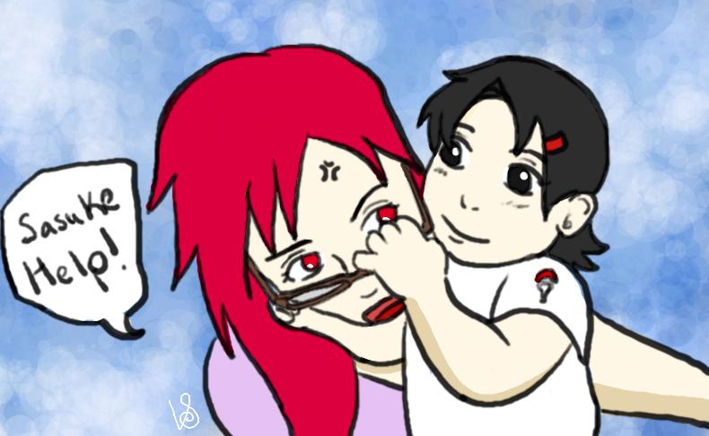 Karin And Sarada By Halogirl237 On Deviantart