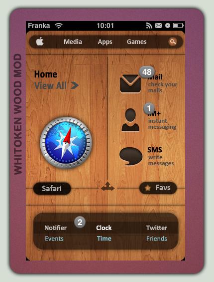 Whitoken Wood Mod by FrankaKo
