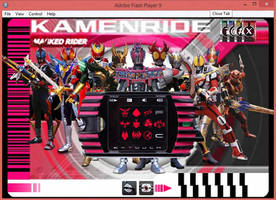 [FLASH] Kamen Rider Decade v 2.0 by crimes0n
