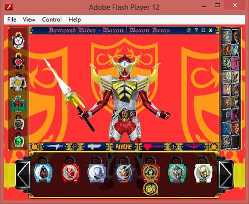 [FLASH] Kamen Rider GAIM Arms Change v17.61.5 BETA