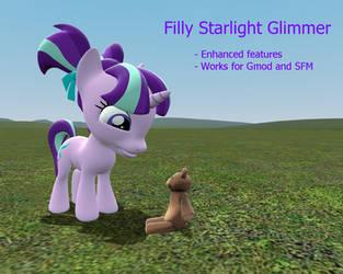 Gmod/SFM Download: Filly Starlight Glimmer by MeltingMan234