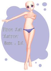 MMD - Piron Lat ''Latron'' Base + DL by lexxxyy
