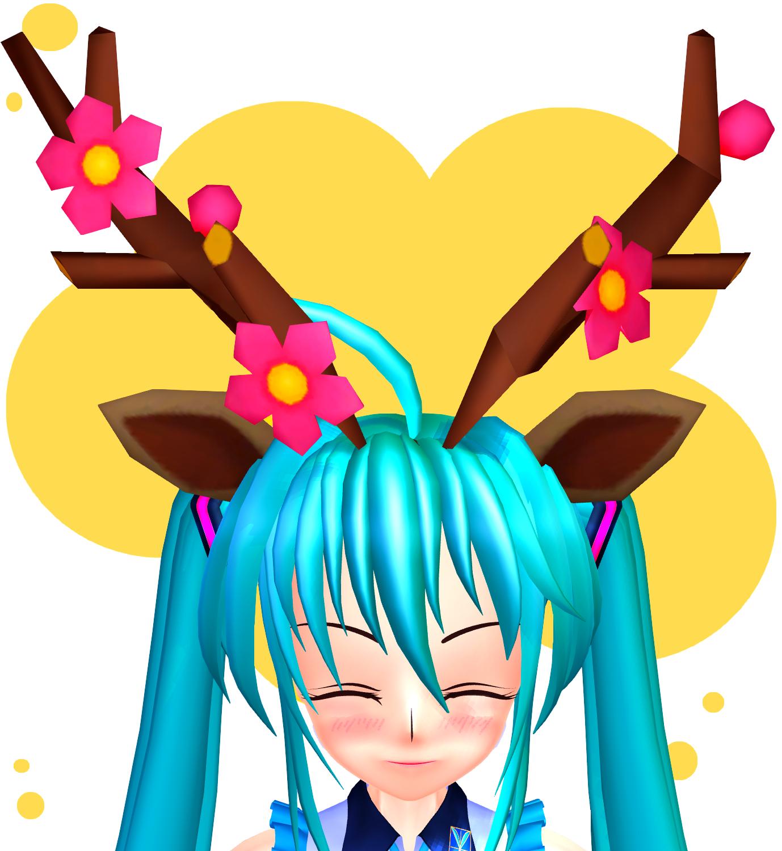 MMD - Sawsbuck Ears + Antlers + DL