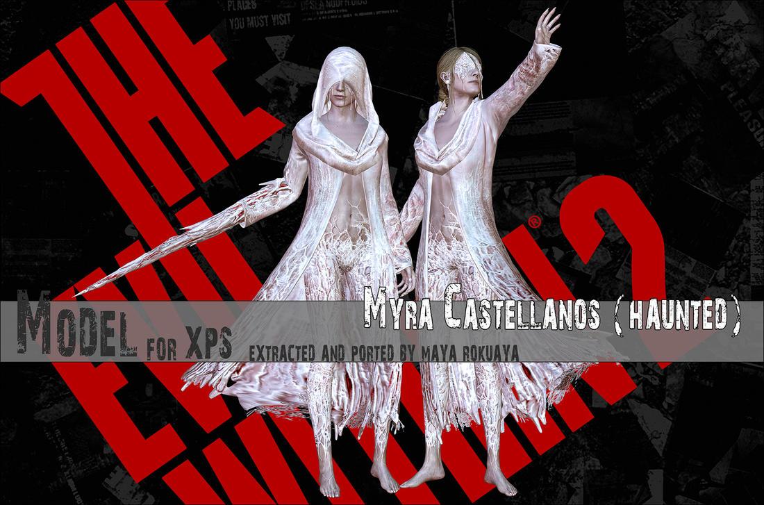 Myra Castellanos (Haunted) By MayaRokuaya On