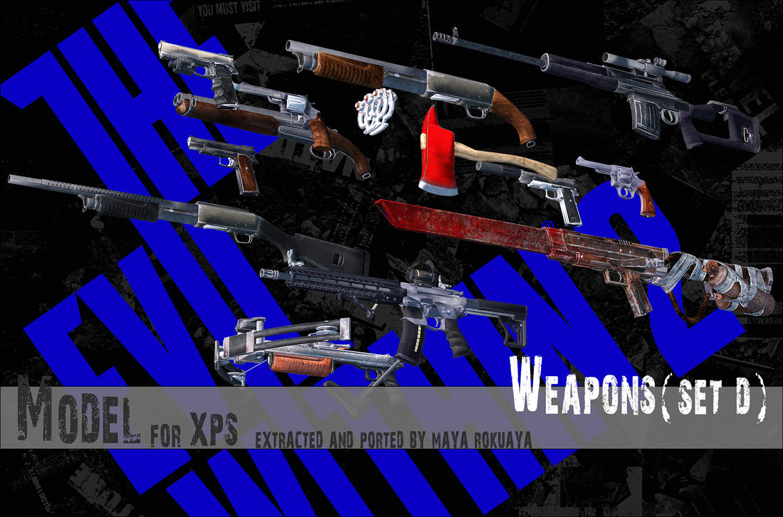 Weapons (Set D) By MayaRokuaya On DeviantArt