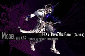 XPS: FFXV - Ravus Nox Fleuret (Daemon) by MayaRokuaya