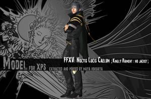 XPS: FFXV - Noctis Lucis Caelum (Kingly Raiment) by MayaRokuaya