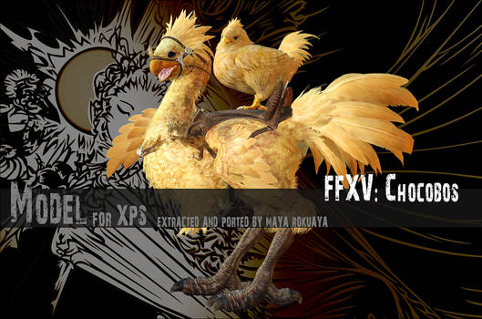 XPS: FFXV - Chocobos