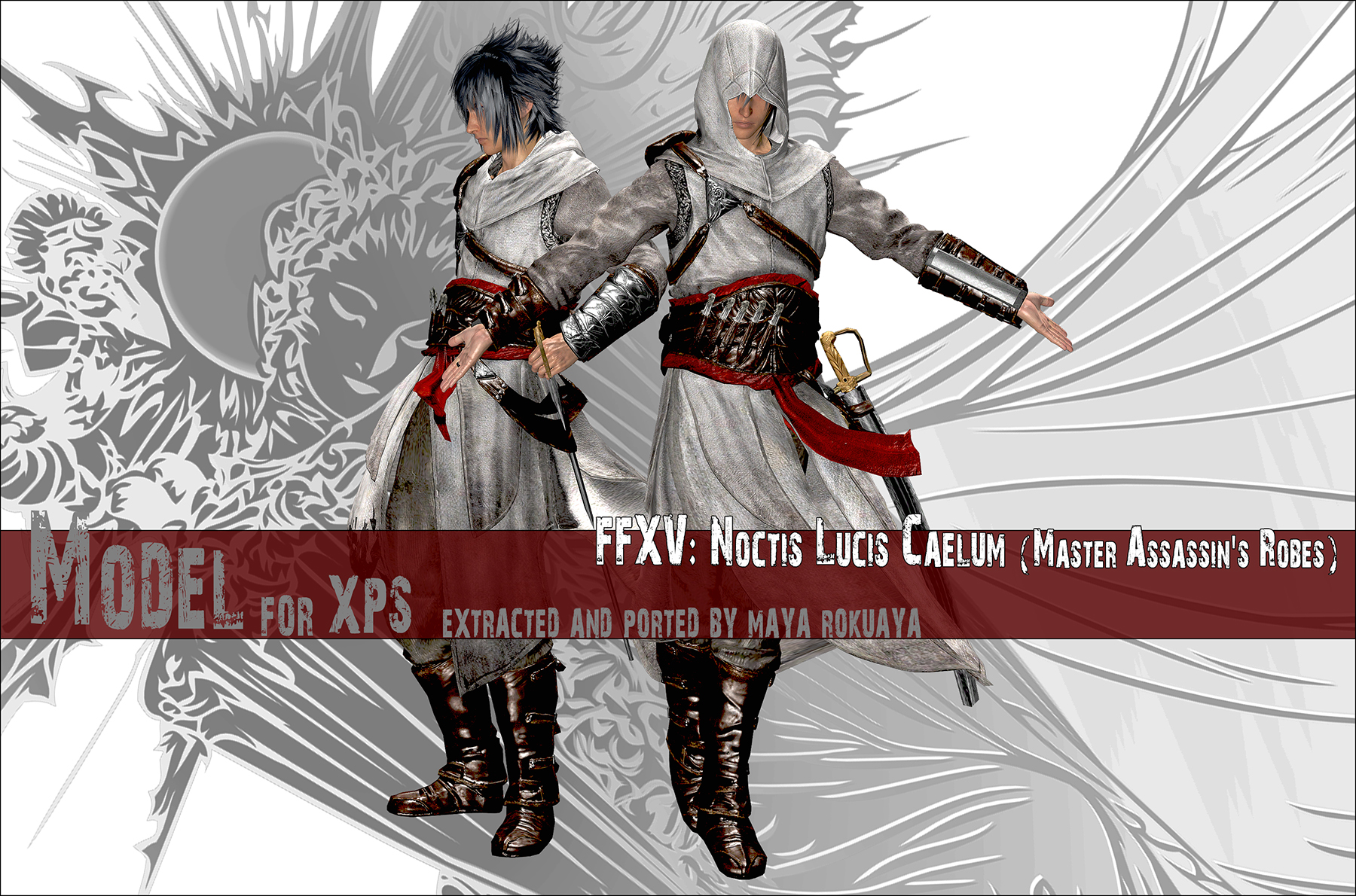 Xps Ffxv Noctis Master Assassin S Robes By Mayarokuaya On
