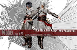 XPS: FFXV - Noctis (Master Assassin's Robes) by MayaRokuaya