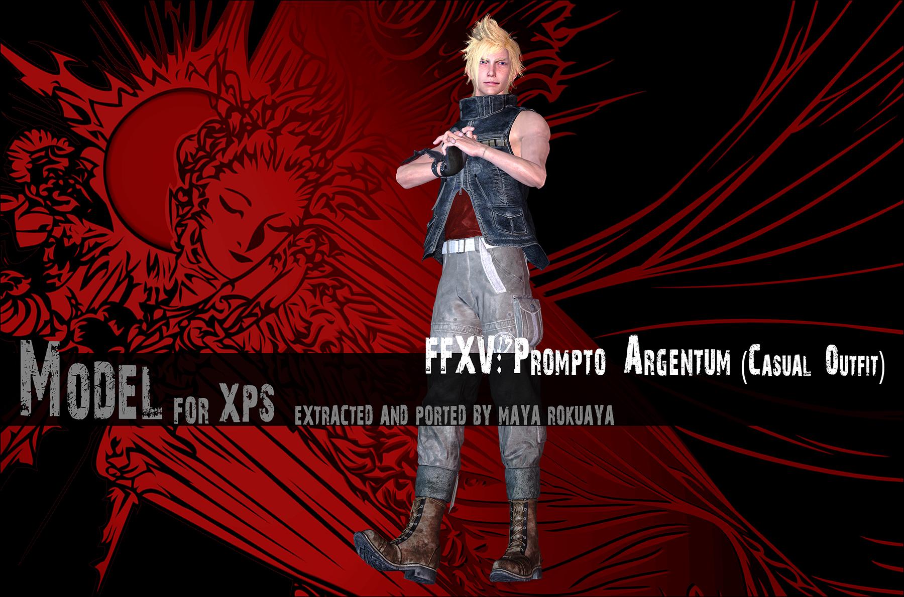 Prompto Argentum(Casual Outfit) By MayaRokuaya