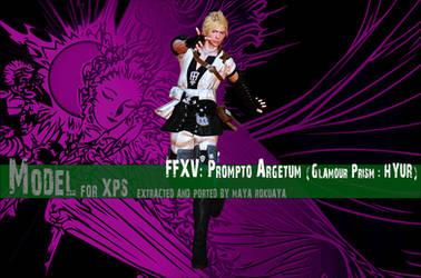 XPS: FFXV - Prompto (Glamour Prism : HYUR) by MayaRokuaya