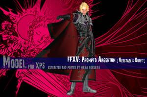 XPS: FFXV - Prompto Argentum (Verstael's Outfit) by MayaRokuaya