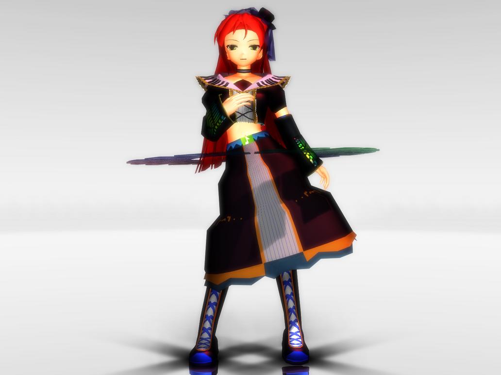 [MMD] Animasa Ritsu [DL] by ChakkyCharizard