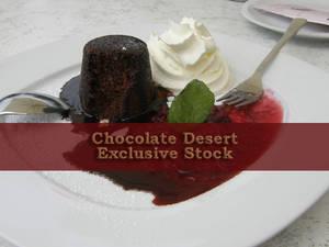 ExclStock Chocolate Desert