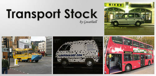 London 12 Transport Stock Pack by Gwathiell