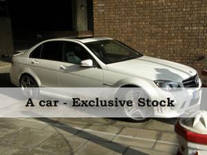 ExclStock White Car