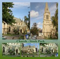 London 15 Church by Gwathiell