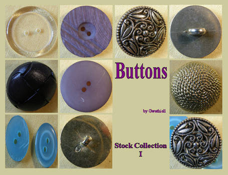 Buttons 8 Collection 1