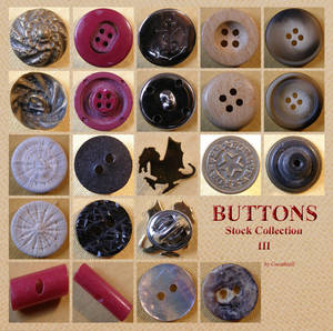 Buttons 9 Collection 3