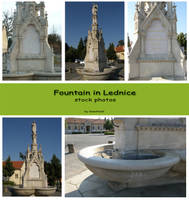 Lednice - Fountain by Gwathiell