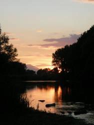Boat Trip - Sunset by Gwathiell