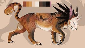 Halloween Tiger design