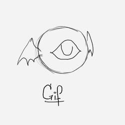 Bat-Eye Flying by Guiding-Heart