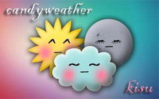 candy weather for Fancy Widgets by kkisu