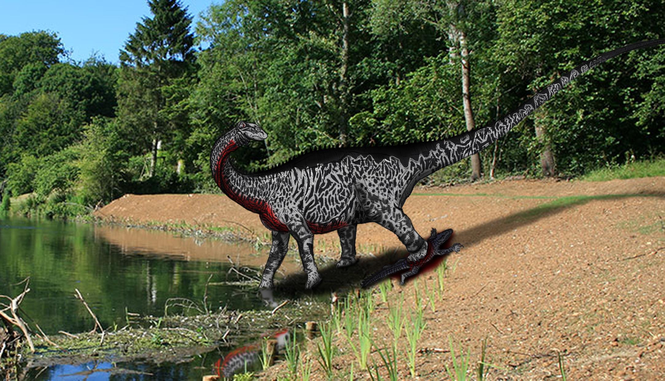 Dinovember day 3 - Nigersaurus by kingrexy